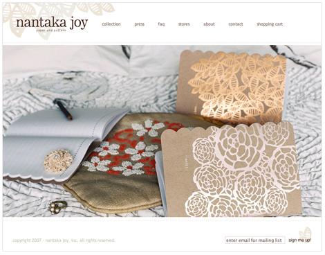 Nantakajoywebsite