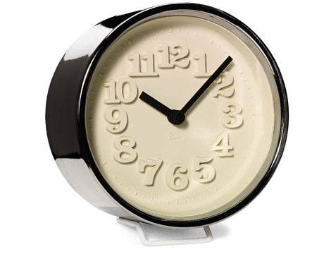 Riki-desk-clock-chrome