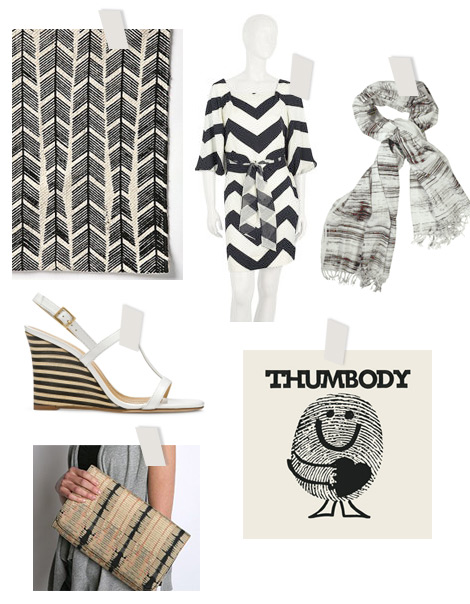 Feeling-black-white-chevron-stripe