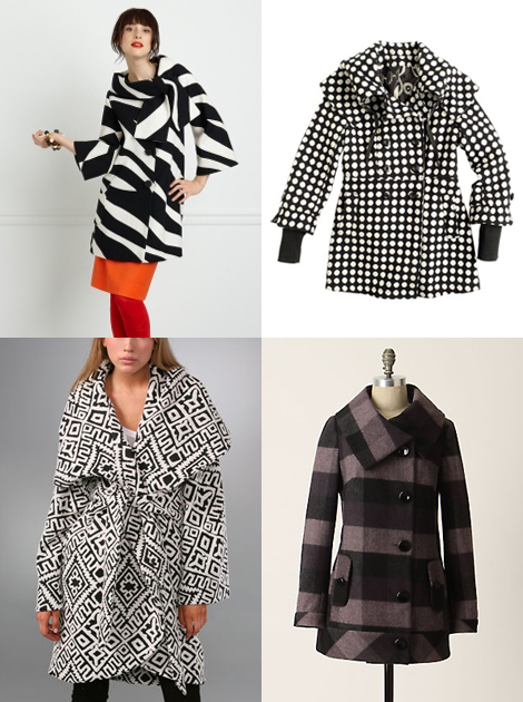 Patterned-coats