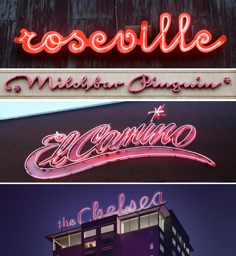 Restaurant-retro-pink-neon-signs