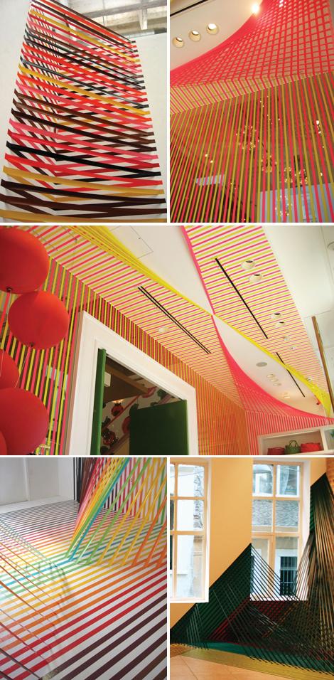 Rebecca-ward-tape-installation