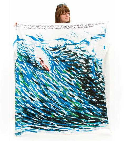 Raymond-pettibon-towel