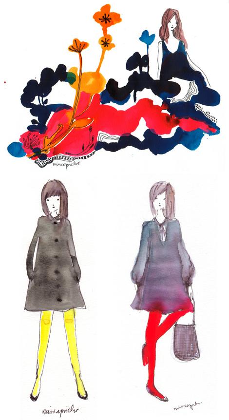 Miss-capricho-illustration