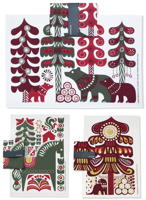 Marimekko-holiday-tea-towels