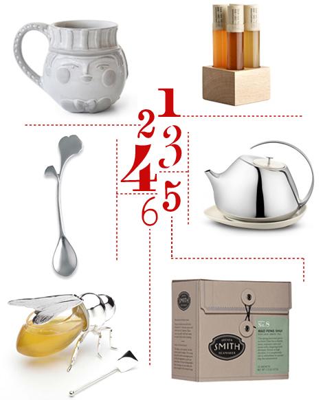 Tea-honey