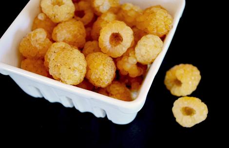 Yellow-raspberries