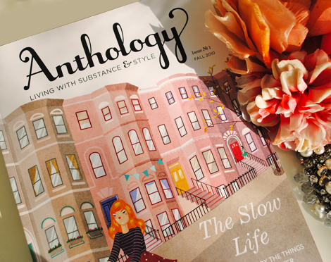 Anthology-magazine