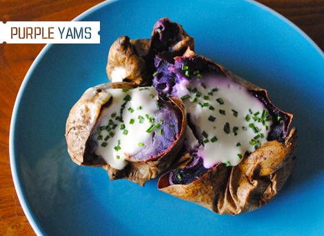 Purple-yams