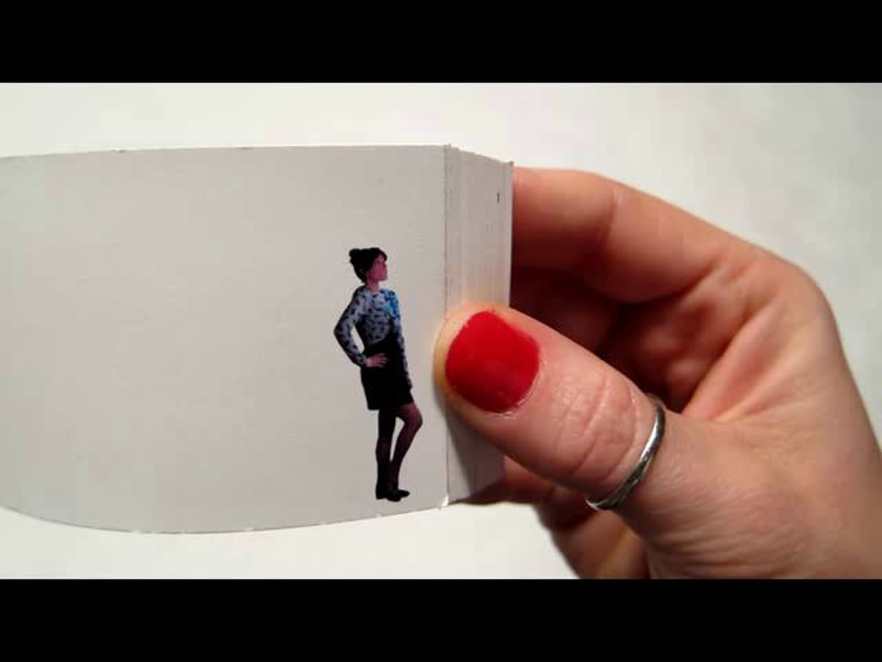 The 'sweetest' Proposal flip book
