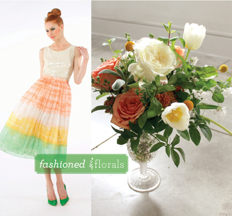 Fashioned-florals-sorbet-bouquet