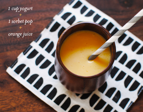 Orange-smoothie