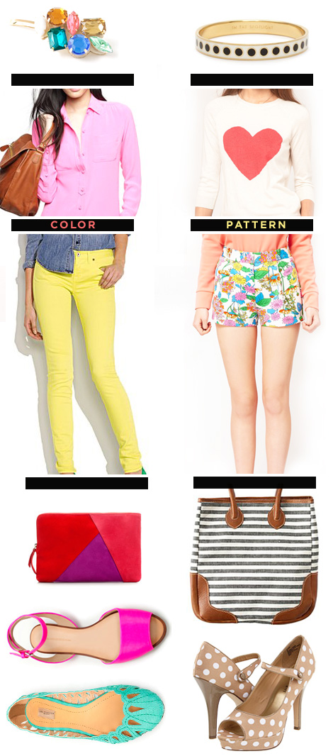Head-to-toe-color-pattern
