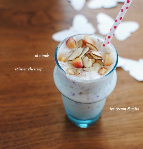 oh joy | rainier cherry milkshake