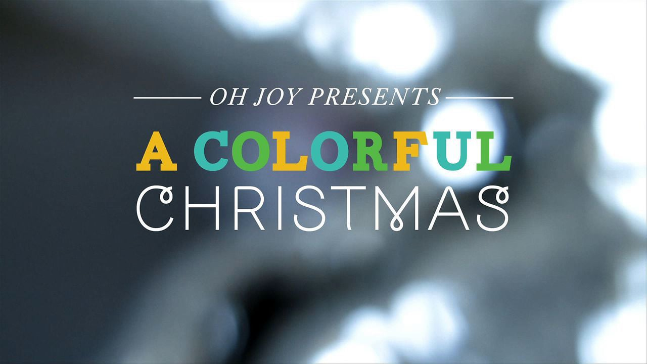 A Colorful Christmas —Oh Joy + The Land of Nod