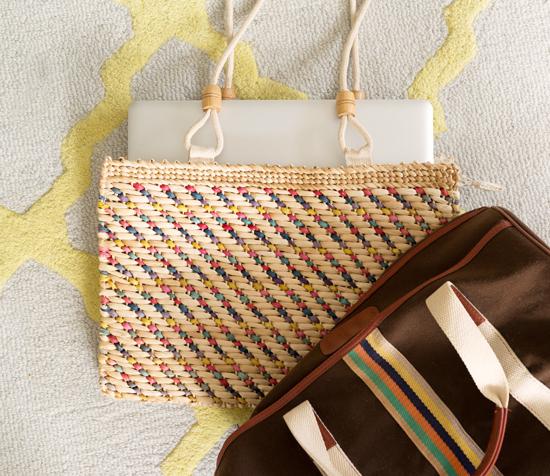 Vintage-bag-woven