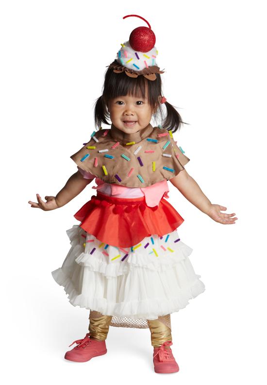 Real Simple   Ice Cream Sundae Halloween Costume   Oh Joy