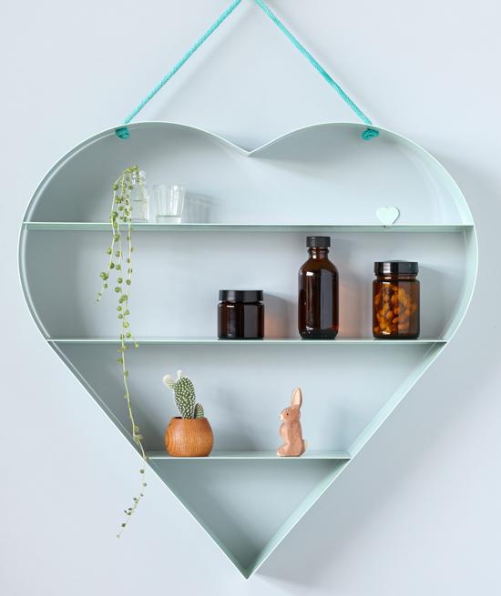 Bride and Wolfe Heart Shelf