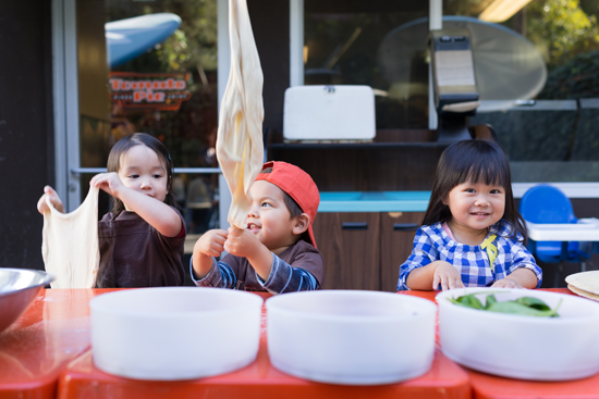 Oh Joy | Toddler Pizza Class