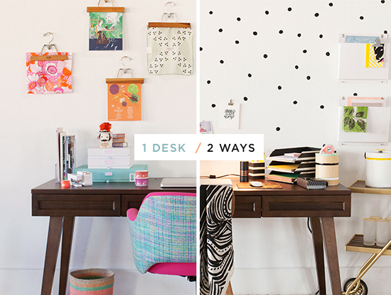 Oh Joy / 1 Desk, 2 Ways