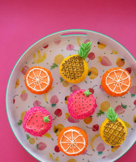 Oh Joy / Fruity Cupcakes by Trophy