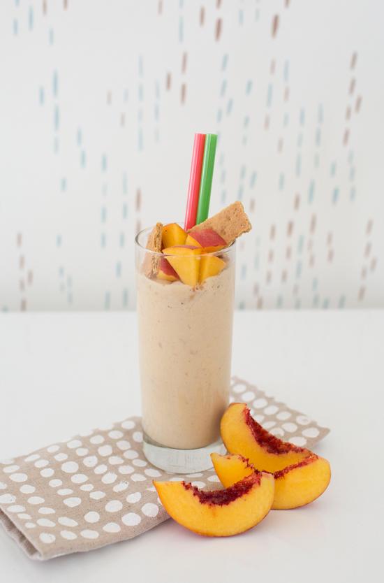 Peach Pie Milkshake