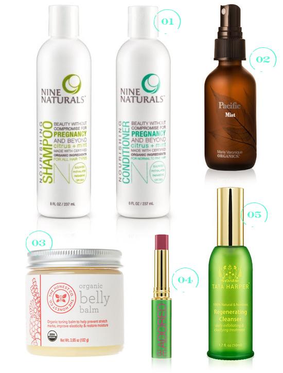 Organic Pregnancy Beauty Essentials