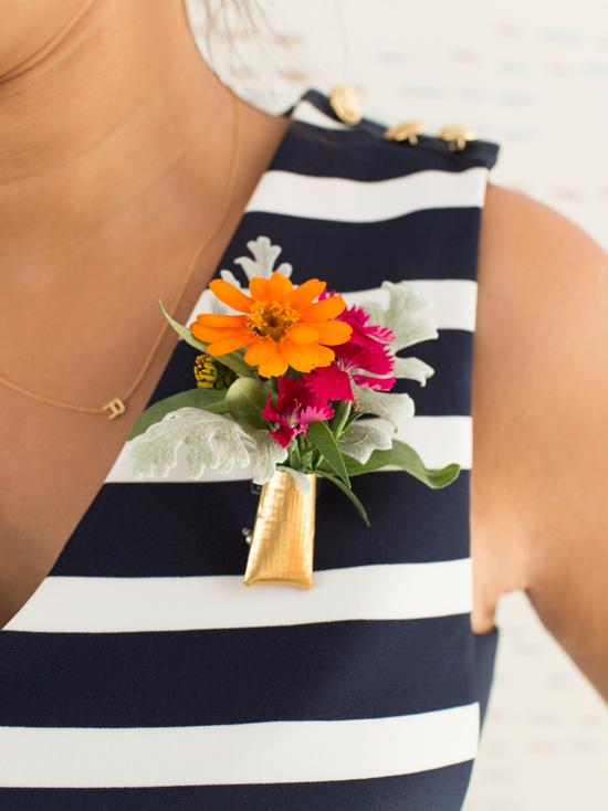 Floral Brooch DIY