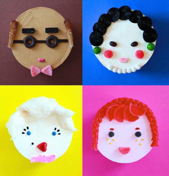 Cake Portraits / Make & Give