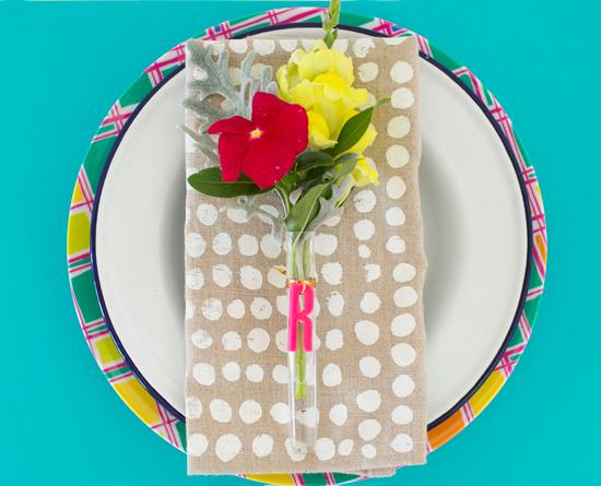 Floral Placecard DIY