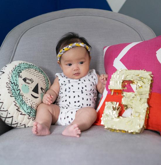 Oh Joy / Monthly Baby Photo