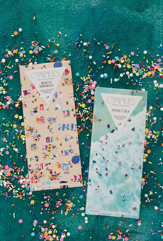 Gray Malin x Compartes Chocolate Bars