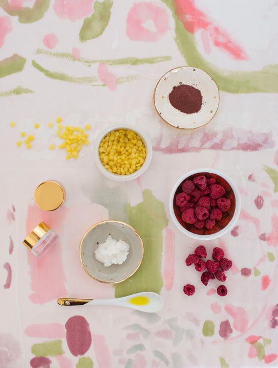 Homemade Tinted Lip Balm Using Natural Ingredients