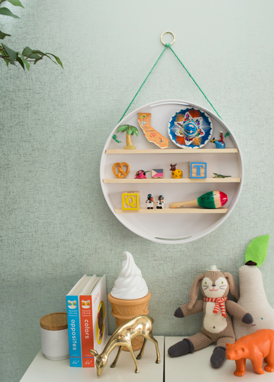 Baby Memorabilia Shelf DIY