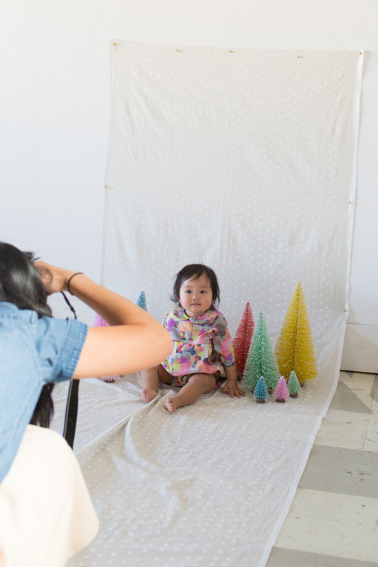 how to create a portrait photo studio at home