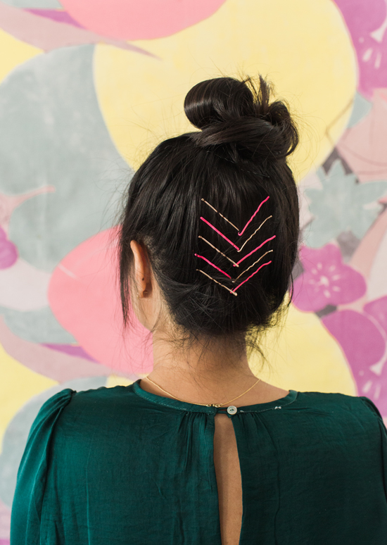 Bobbi Pin Hairstyle