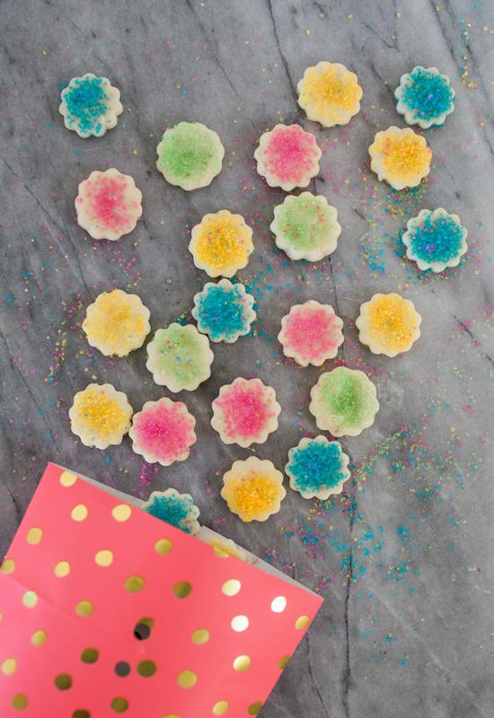 Confetti Cookie Bites