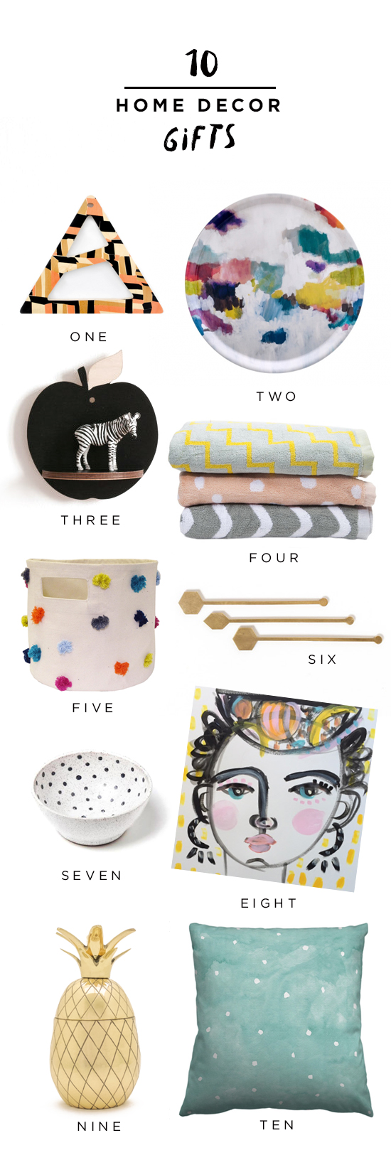 10 Home Decor Gifts!
