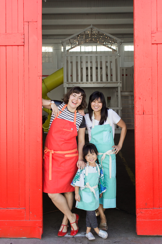 Hedley and Bennett aprons