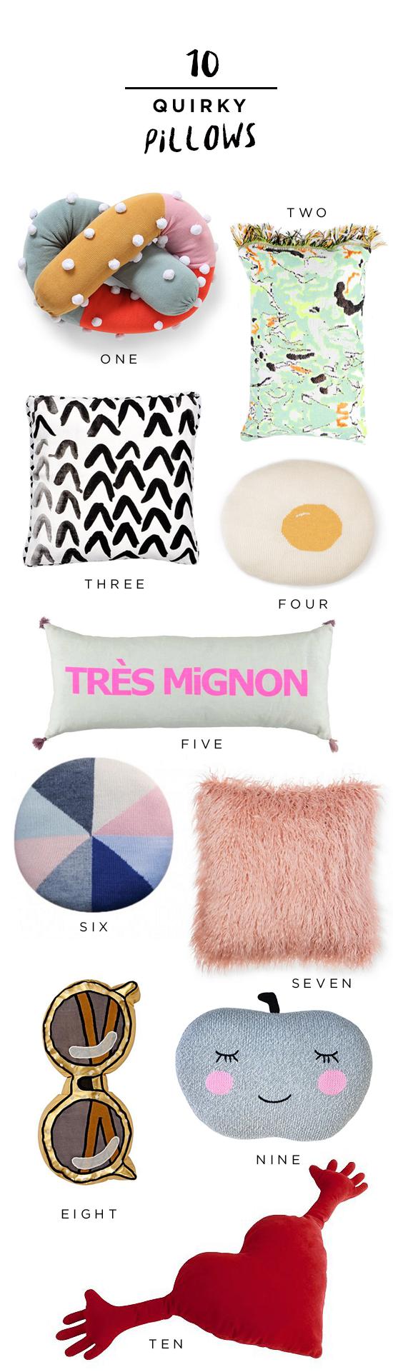 Quirky-pillows