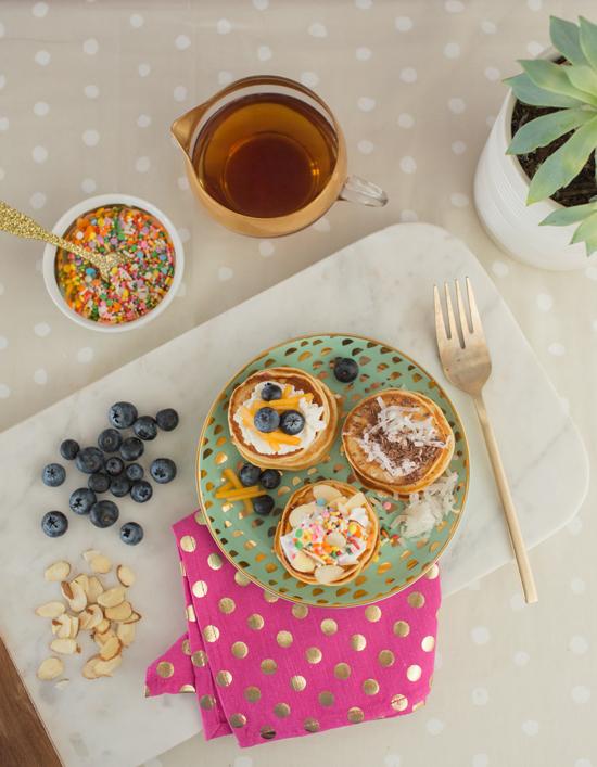 Mini Pancake Toppings