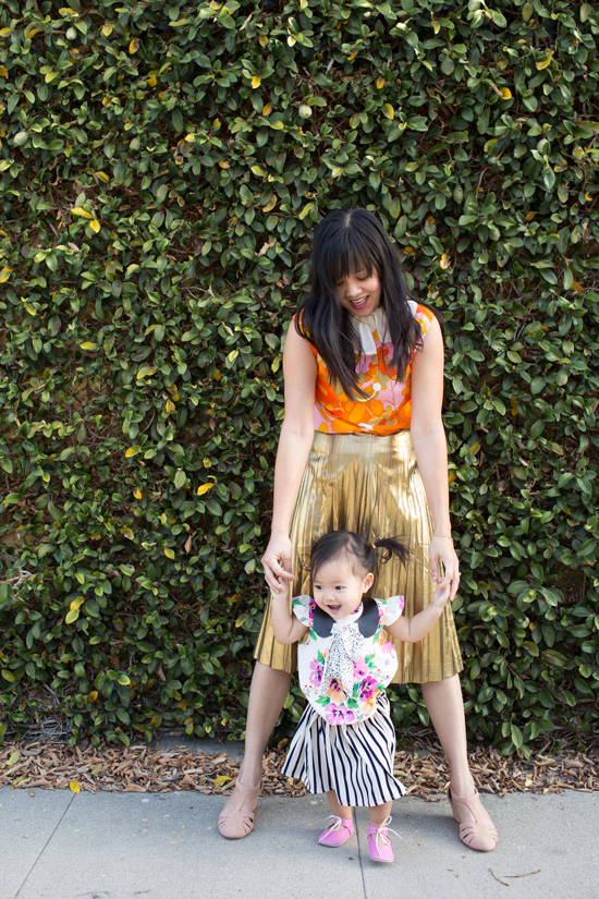Dressing the Babe / Fancy Florals