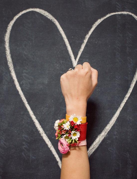 Floral Friendship Bracelet
