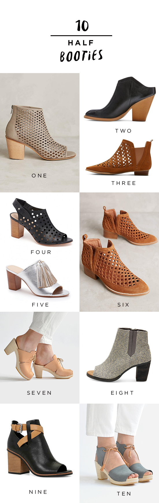 Cut-out-bootie
