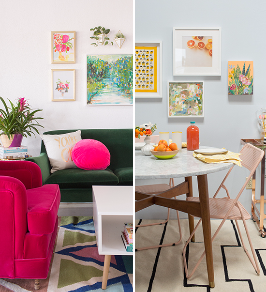 unexpected color combinations at home