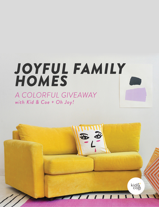 joyful homes giveaway