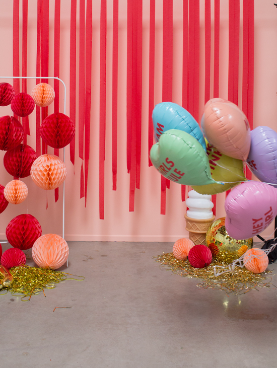 oh joy red and blush balloons