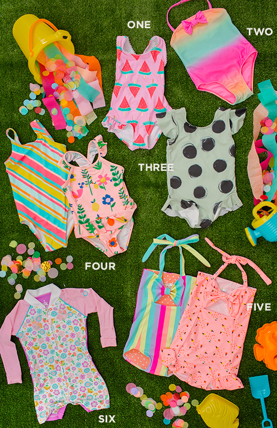 the cutest toddler bathing suits for girls