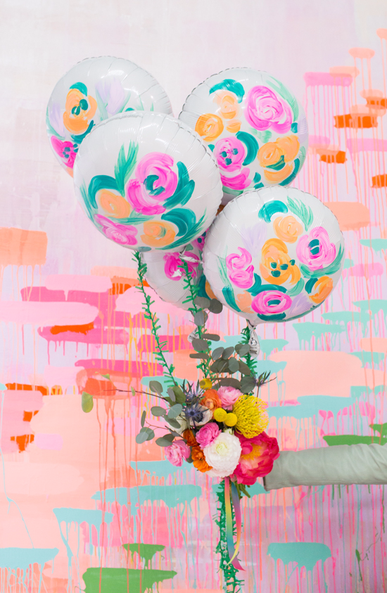 a balloon bouquet for mother's day