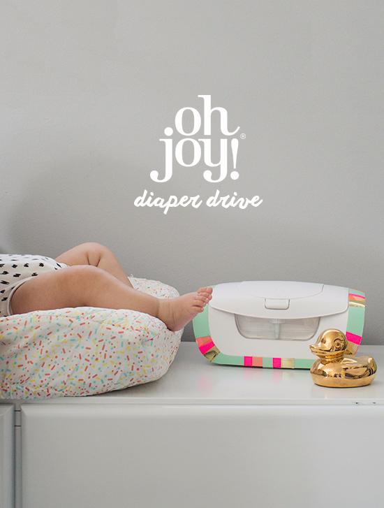 Oh Joy Diaper Drive